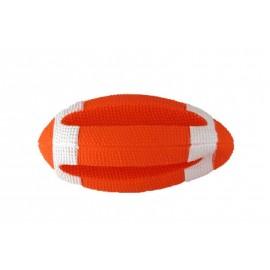 Vinyl rugbybal + deuken 10 cm