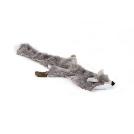 Flatino pluche vos grijs 30 cm