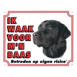 Labrador zwart