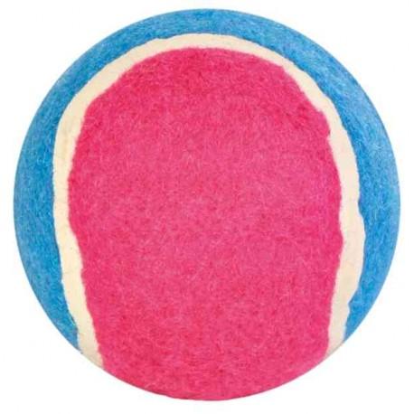 Tennis bal 6 cm 6 stuks