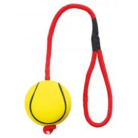 Softbal 6 cm aan koord van 30 cm