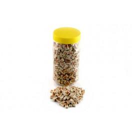 Mini bones zalm en rijst 500 gram