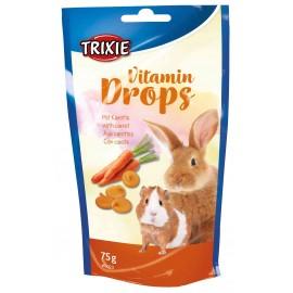 Vitamine drops wortel 75 gram