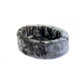 Pluche mand zwart 40 cm
