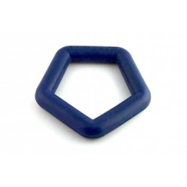 Rubber ring drijvend 15 cm
